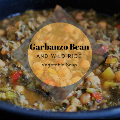 Garbanzo and Wild Rice Vegetable Soup - Recipes - happeneduponhappy